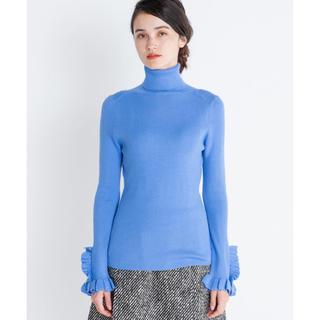 ランバンオンブルー(LANVIN en Bleu)のランバンオンブルー 【VERY掲載】フリルリブタートルニット(ニット/セーター)