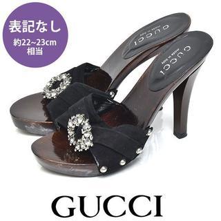Gucci - グッチ ビジュー サンダル 約22-23cm相当