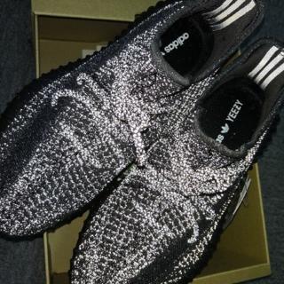 adidas - 27cm adidas yeezy 350 V2 reflective