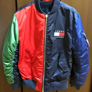 TOMMY HILFIGER - Tommy Jeans 90s リバーシブル ボンバージャケット
