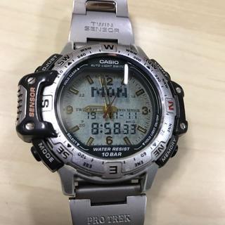 CASIO - カシオ PRO TREK 腕時計。