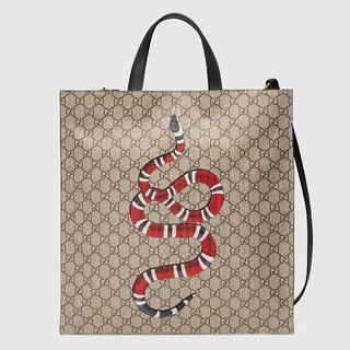 Gucci - Gucci gg snake print tote bag