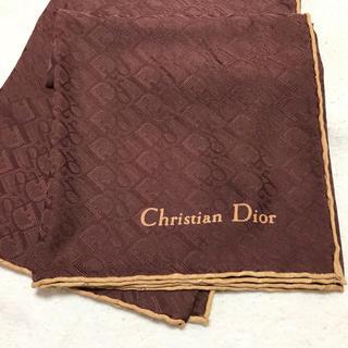 クリスチャンディオール(Christian Dior)の新品未使用!Diorディオール レアなトロッター柄スカーフ(バンダナ/スカーフ)
