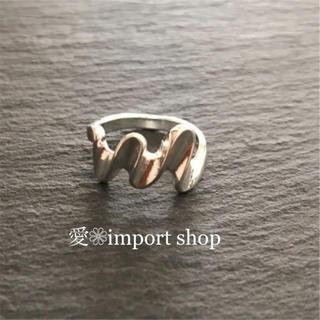 フリークスストア(FREAK'S STORE)の【silver  925 】凹凸シャイニー ウェーブリング(リング(指輪))
