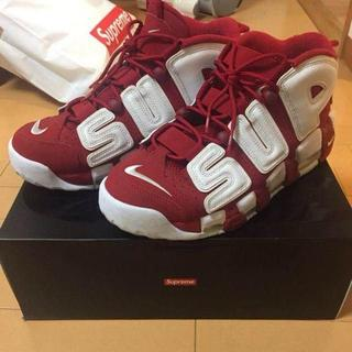 ナイキ(NIKE)の27cm Supreme Nike Air More Uptempo(スニーカー)