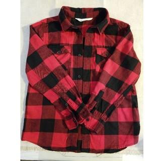 エイチアンドエム(H&M)のH&M キッズ ネルシャツ 130(ブラウス)