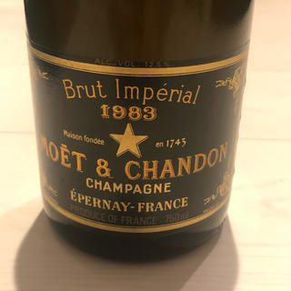 モエエシャンドン(MOËT & CHANDON)のMoet et Chandon Brut Imperial 1983  レア(シャンパン/スパークリングワイン)