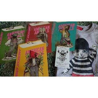 アチャチュムムチャチャ(AHCAHCUM.muchacha)のTシャツ ヒグチユウコ サーカス展 グレー サイズS ポストカード非売品セット(Tシャツ(半袖/袖なし))