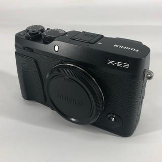 フジフイルム(富士フイルム)の値下げ! FUJIFILM X-E3 ブラック 美品(ミラーレス一眼)