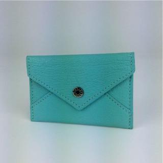 ティファニー(Tiffany & Co.)のティファニー カードケース パスケース ティファニーブルー 191801(名刺入れ/定期入れ)