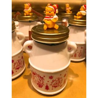 クマノプーサン(くまのプーさん)のくまのプーさん クリスマス☆紅茶瓶 シナモン&アップルティー☆TDR限定品(茶)