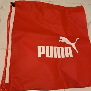 プーマ(PUMA)のプーマ  不織布バッグ(ショップ袋)