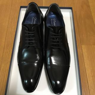 Santa Felice シークレット紳士シューズ 黒革靴(ドレス/ビジネス)