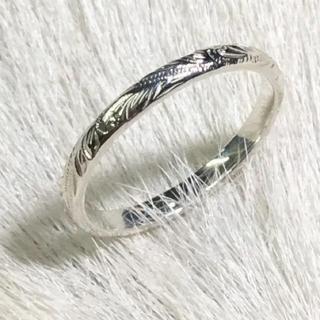 ハワイアンジュエリー*ピンキーリング3号(リング(指輪))