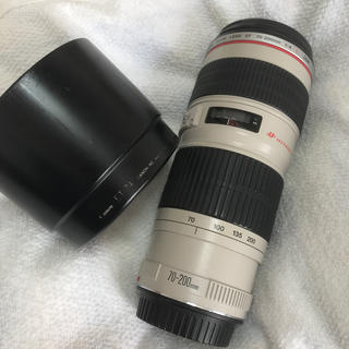 Canon - canon ef70-200 白レンズ 望遠レンズ