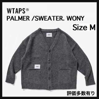 ダブルタップス(W)taps)の【M】WTAPS PALMER / SWEATER. WONY(カーディガン)