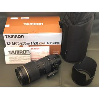 TAMRON - TAMRON SP AF70-200mm F2.8 PENTAX Kマウント用