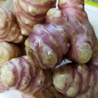 かなかな様専用★紫菊芋+菊芋5㎏送料込♪無農薬オーガニック(野菜)