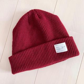 ウィゴー(WEGO)の【未使用】WEGO / ニット帽 / BROWNY(ニット帽/ビーニー)