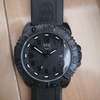 ルミノックス(Luminox)のルミノックス カラーマーク オールブラック(腕時計(アナログ))