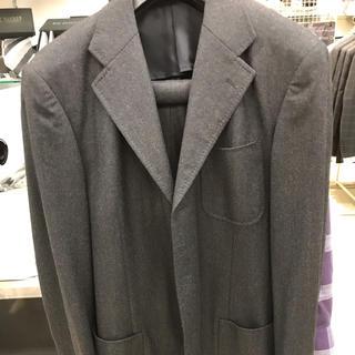 グレーフランネルスーツ(スーツジャケット)