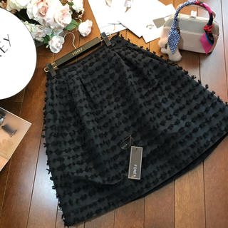 FOXEY - ♡フォクシー♡スカート Bon Bon Chocolat ブラックブラック38♡
