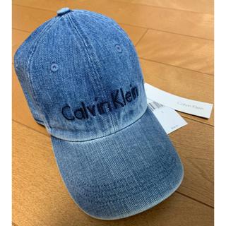 Calvin Klein - カルバンクライン デニムキャップ