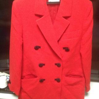 ジバンシィ(GIVENCHY)の大幅お値下げ♡GIVENCHY コート赤(テーラードジャケット)
