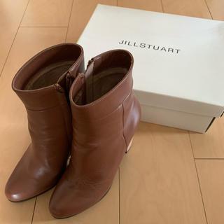 ジルスチュアート(JILLSTUART)のジルスチュアート ポリヒールブーティー 23.5 ブーツ(ブーツ)
