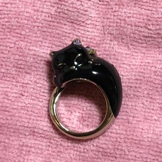 ANNA SUI - ANNA SUI アナスイ 猫 ネコ ねこ リング 指輪