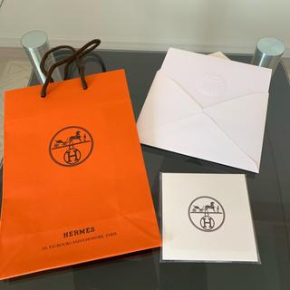 エルメス(Hermes)のエルメス Hermès ふせん ショッパー レター(ノート/メモ帳/ふせん)
