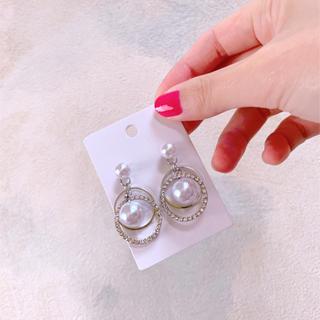 Ameri VINTAGE - pearl pierce silver
