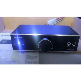 エイスース(ASUS)の鎌ベイアンプ KRO SDA-1100 ブラック 極美 デジタルオーディオアンプ(PCパーツ)