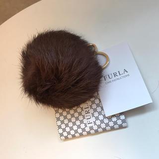 フルラ(Furla)の新品未使用リアルファー ファーチャーム フルラ (バッグチャーム)