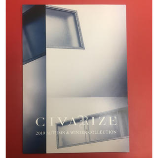 CIVARIZE 2019AW LOOK BOOK カタログ