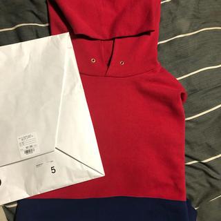 VISVIM - VISVIM 19aw SWITCH JUMBO HOODIE サイズ5 新品
