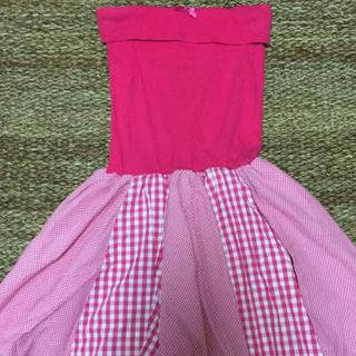 バービー(Barbie)のBarbie💟チューブトップOP(ミニワンピース)