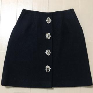 31 Sons de mode - トランテアン♡フロントビジュー台形スカート