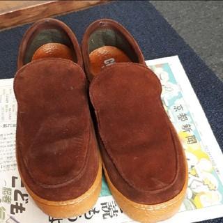 カンペール(CAMPER)のカンペールレディースバックスキン靴(ローファー/革靴)