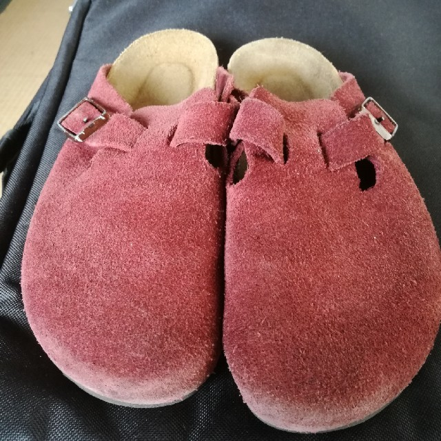 BIRKENSTOCK(ビルケンシュトック)のビルケンシュトック ボストン スウェード 23〜24㌢ カワイイ サンダル レディースの靴/シューズ(サンダル)の商品写真
