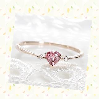 美品 ピンクゴールド リング (リング(指輪))