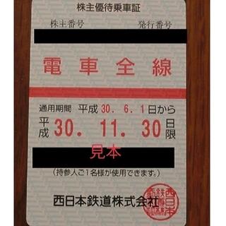 次回 西鉄 株主優待乗車証 電車全線(その他)