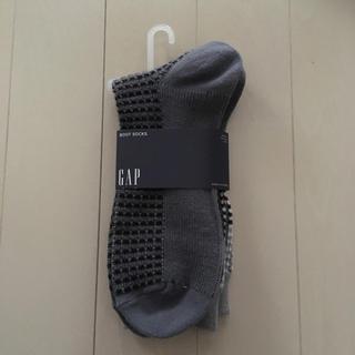 ギャップ(GAP)の新品 GAP バイカラーソックス デザイン靴下 1200円 暖かアクリル 秋冬用(ソックス)