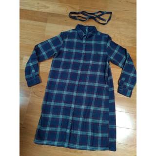 MUJI (無印良品) - 無印良品チェック柄シャツ