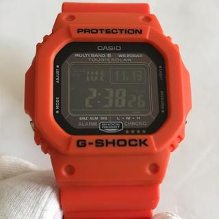 G-SHOCK - 未使用 レア!G-SHOCK レスキュー オレンジ gw-m5610mr-4jf