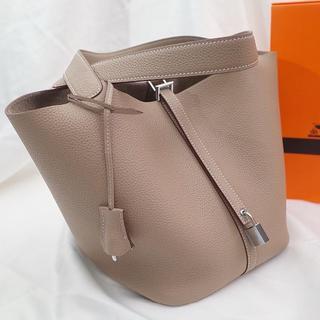 Hermes - ピコタンロック トゥルティールグレー PM/MM グレージュ系 ハンドバッグ