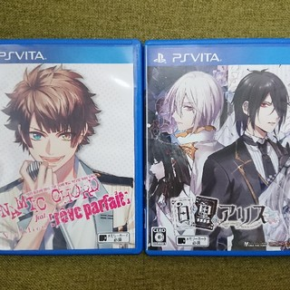 PlayStation Vita - ダイナミックコード DYNAMIC CHORD  白と黒のアリス  Vita