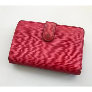 LOUIS VUITTON - 正規品 ルイヴィトン がま口付き 財布 レッド