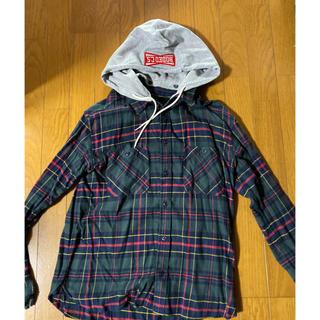 RODEO CROWNS WIDE BOWL - RCWBグリーンのチェックシャツ