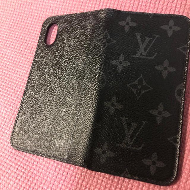LOUIS VUITTON - ルイヴィトン   iPhone Ⅹ ⅩS 携帯ケース 国内正規品 イニシャル入りの通販